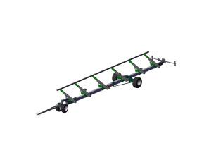 Візок підвищеної міцності для транспортування жниварки MAAHC-16.04.002
