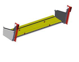 Пристрій для збирання ріпаку MAANS-R 6500