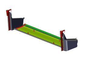 Пристрій для збирання ріпаку MAANS-RН 7500