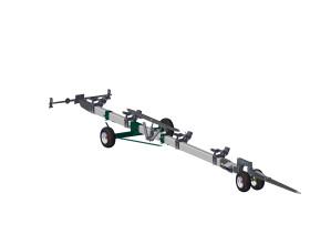 Візок з поворотним елементом для транспортування жниварки MAAHC-16.04.002
